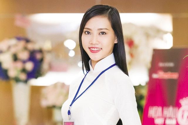 Thí sinh Trần Thị Thùy Trang. Ảnh: TL