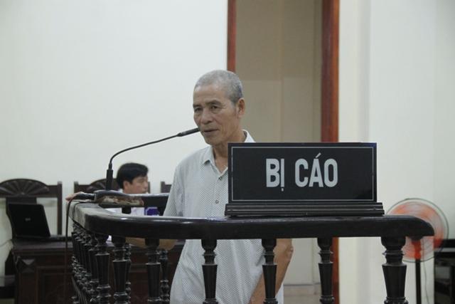 Bị cáo Uông Nhật Được tại Tòa