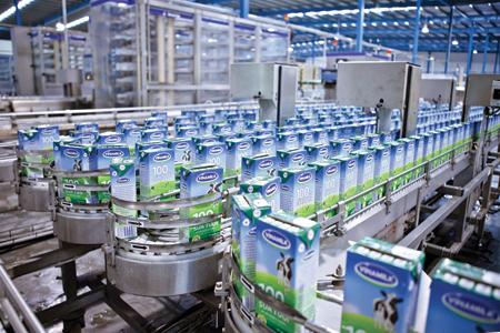 Xuất khẩu sữa Vinamilk tăng trưởng bình quân 62%  1