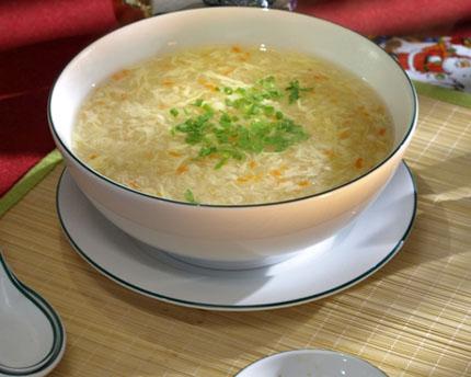 Ngon miệng súp trân châu 1