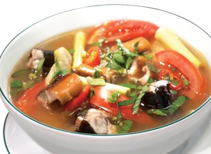 Canh lươn nấu khế 1