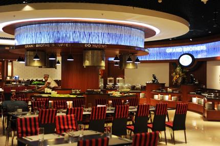 Những quán ăn ngon hút khách tại VMM Royal City 5