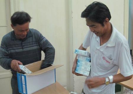 20.000 ly sữa TH True milk đến với bệnh nhân nghèo Bệnh viện K 4