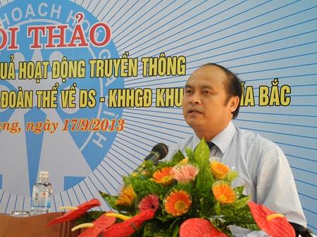 Hội thảo Nâng cao hiệu quả hoạt động truyền thông phối hợp với các ban, ngành, đoàn thể về DS-KHHGĐ 4