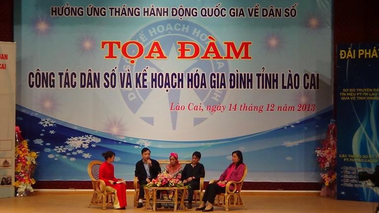 Lào Cai: Tọa đàm về công tác Dân số - KHHGĐ 1