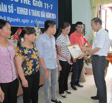 Thái Nguyên: Tổ chức kỷ niệm Ngày Dân số Thế giới, gắn với sơ kết 6 tháng đầu năm 1