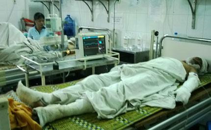 """""""Hai người bị điện giật cháy sém"""" ở Hà Nội: Nạn nhân là lao động tự do! 1"""