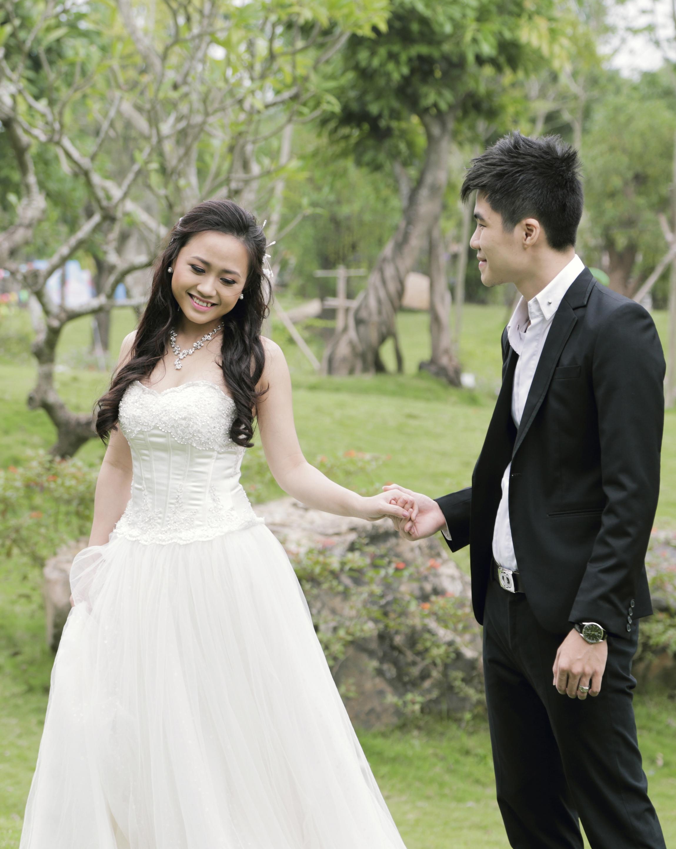 Ảnh cưới lung linh của Phương Thanh với anh trai Hương Tràm 1
