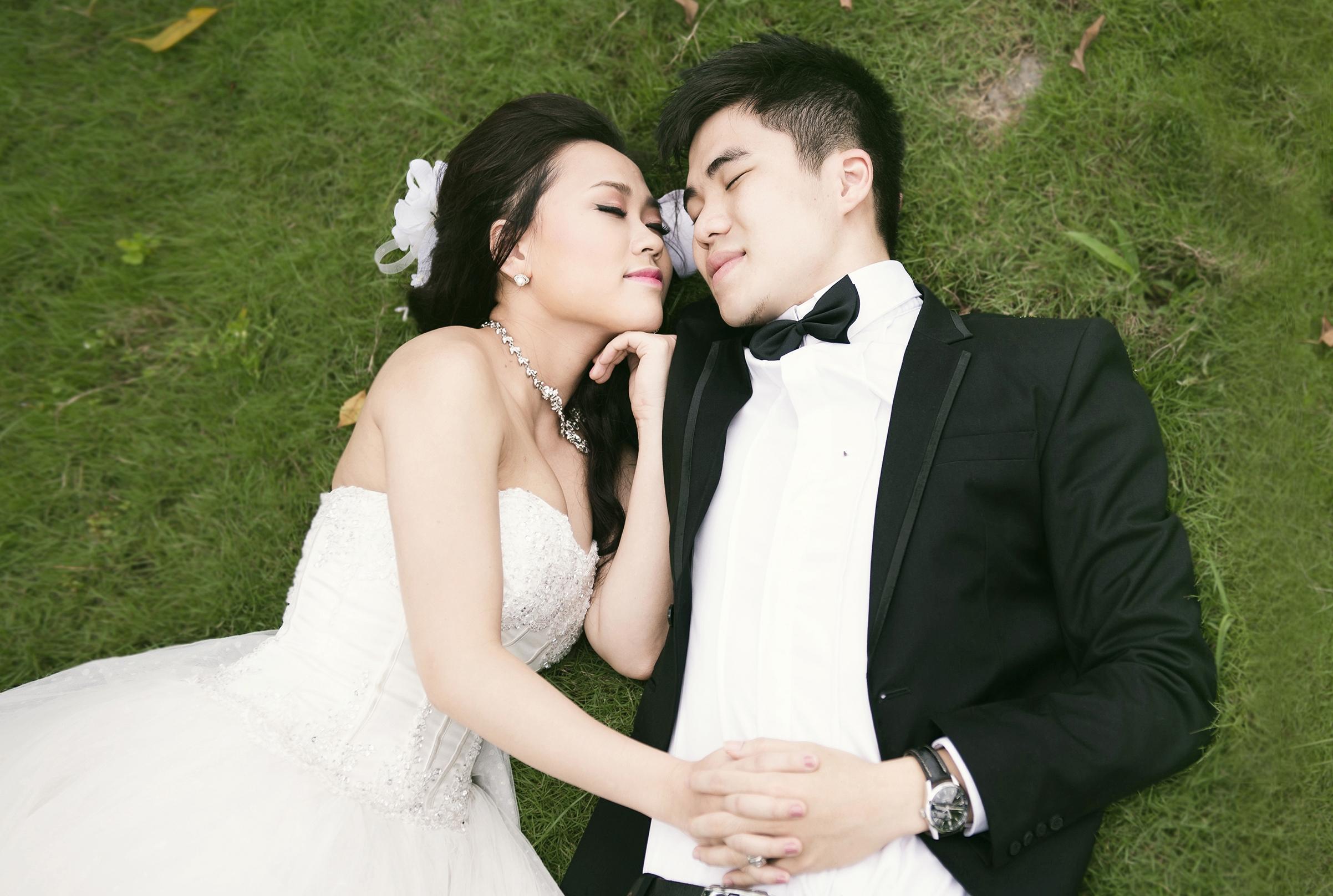 Ảnh cưới lung linh của Phương Thanh với anh trai Hương Tràm 19