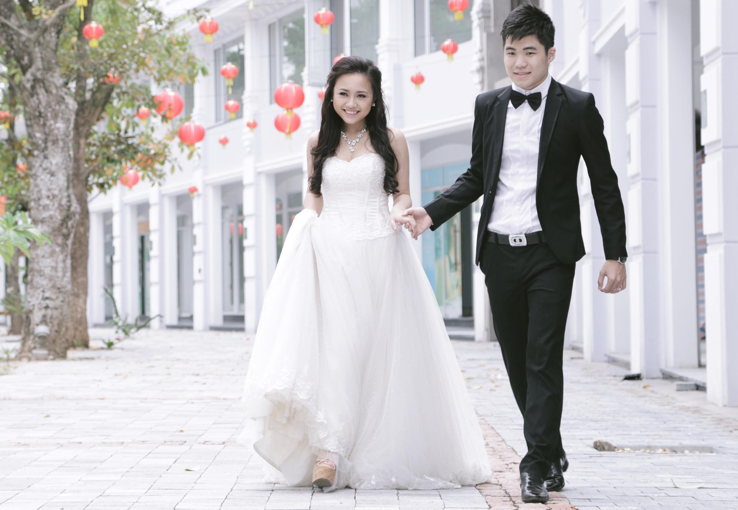 Ảnh cưới lung linh của Phương Thanh với anh trai Hương Tràm 18
