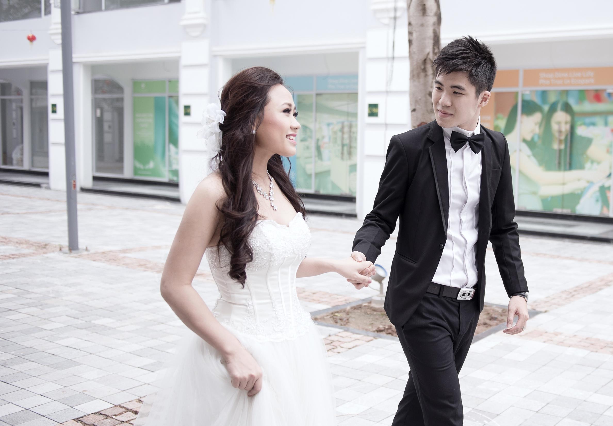 Ảnh cưới lung linh của Phương Thanh với anh trai Hương Tràm 16