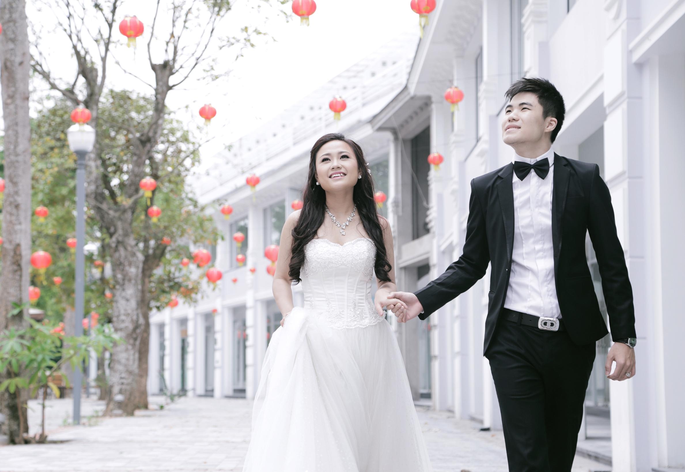 Ảnh cưới lung linh của Phương Thanh với anh trai Hương Tràm 15