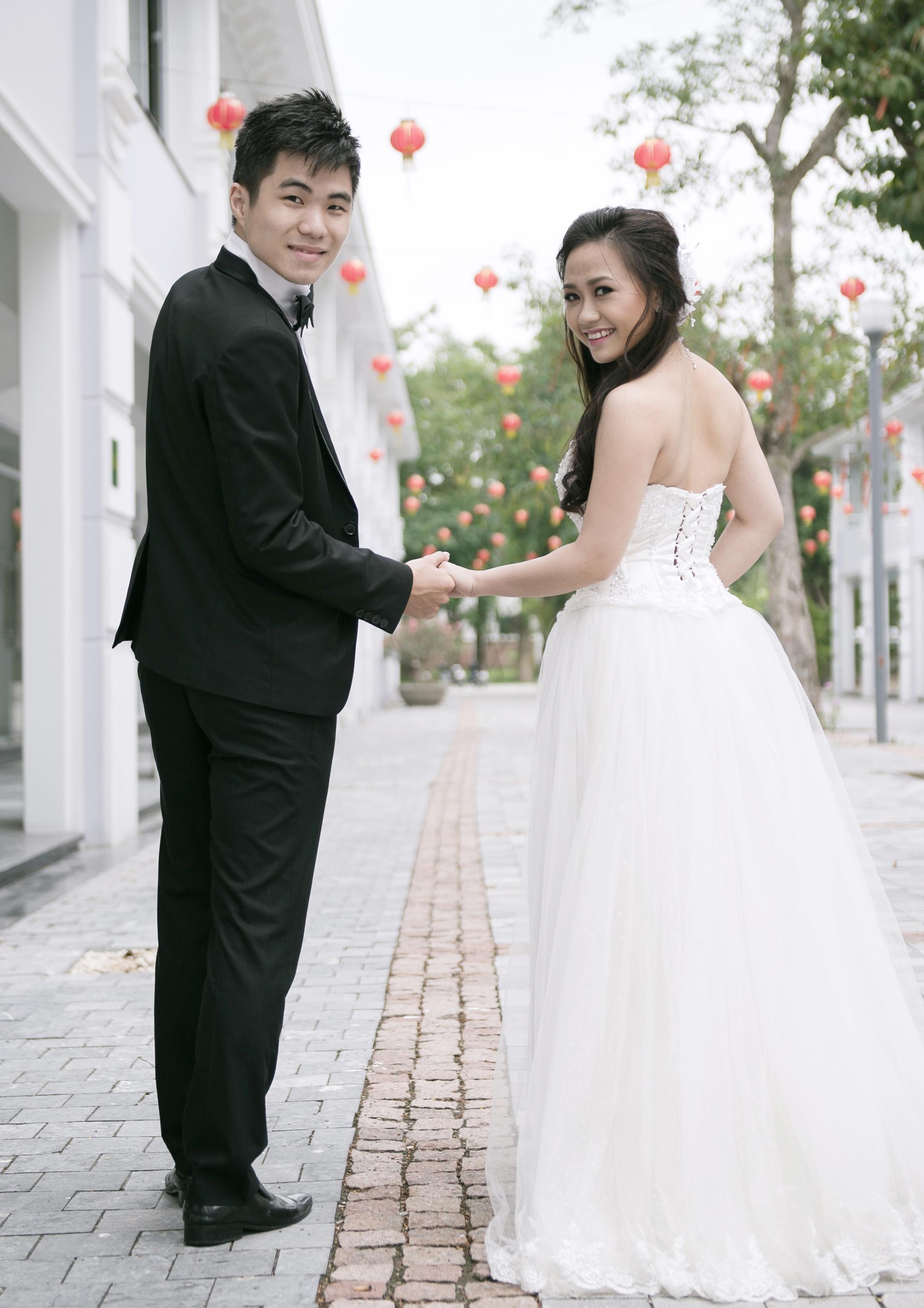 Ảnh cưới lung linh của Phương Thanh với anh trai Hương Tràm 14