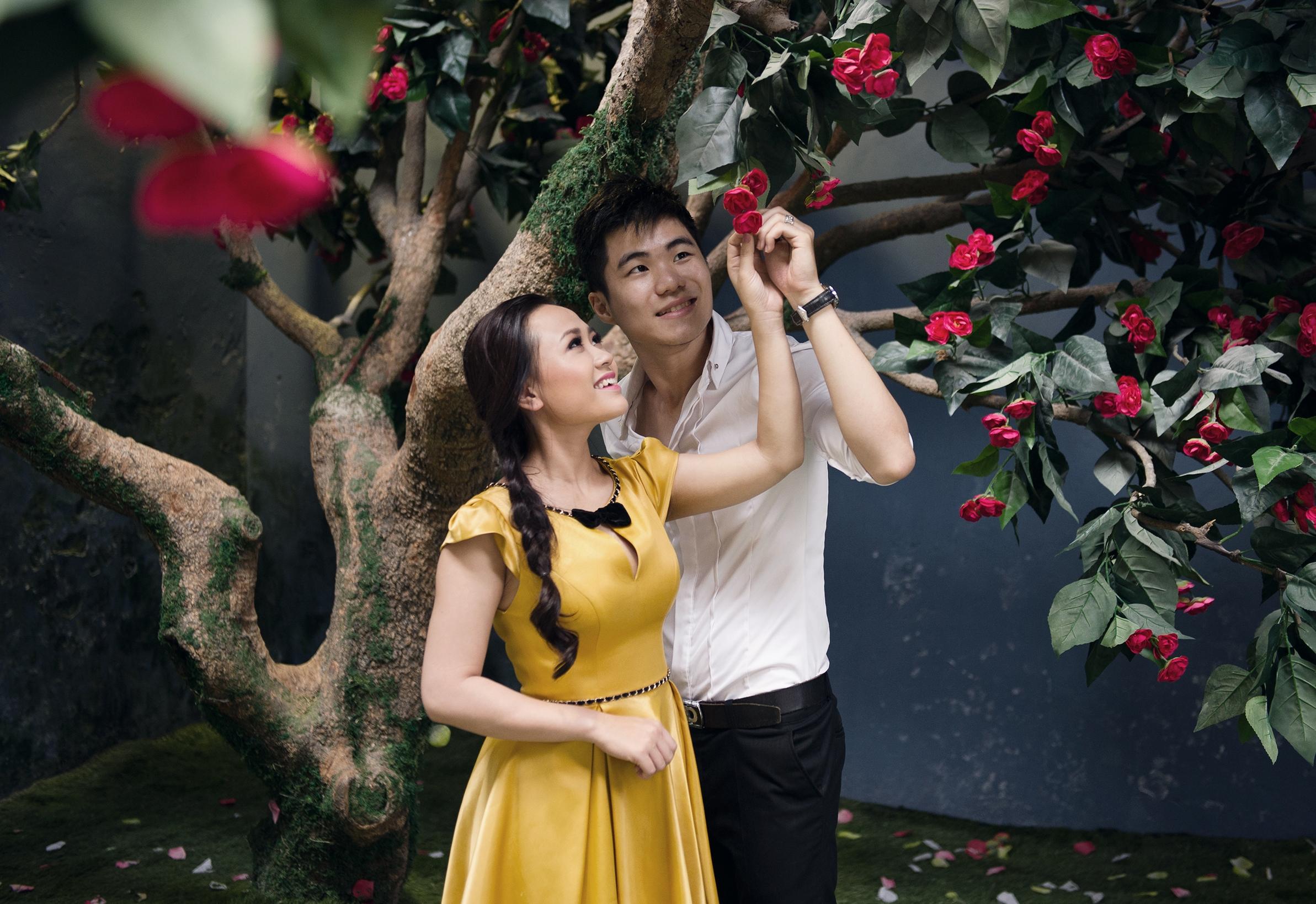 Ảnh cưới lung linh của Phương Thanh với anh trai Hương Tràm 11