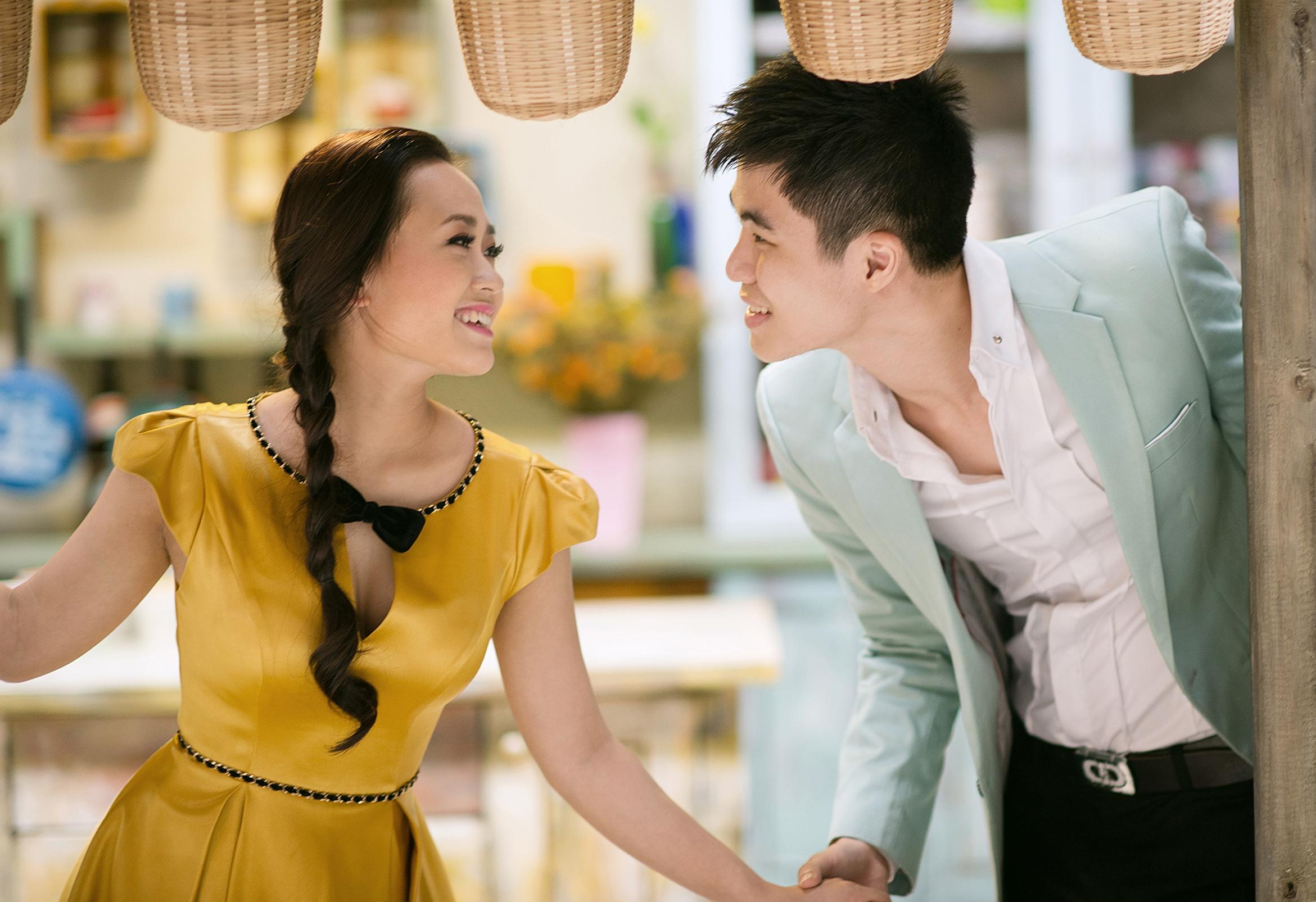 Ảnh cưới lung linh của Phương Thanh với anh trai Hương Tràm 9