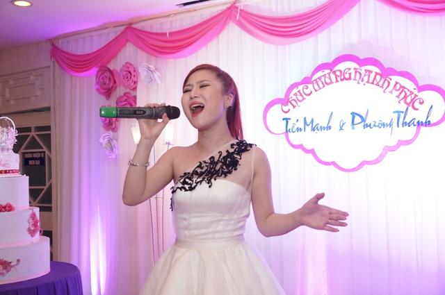 Dàn sao Việt đến hát mừng hạnh phúc của Phương Thanh - Tiến Mạnh 9