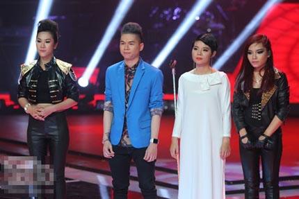 """Bán kết Giọng hát Việt 2013: Hà Linh và Hoàng Tôn bị các HLV """"uốn nắn"""" về văn hóa tiếp nhận phê bình 2"""