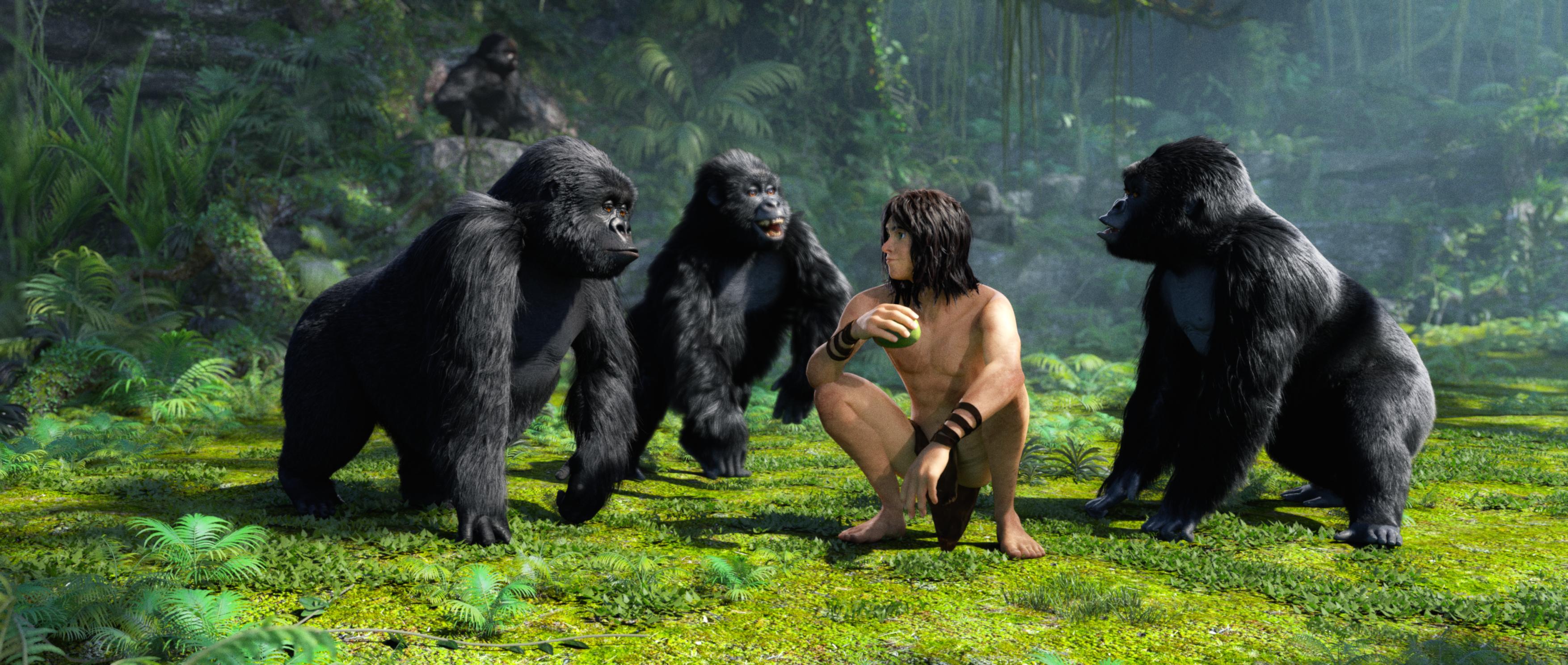 Tarzan 3D sẽ có mặt tại Việt Nam vào dịp tết dương lịch 2