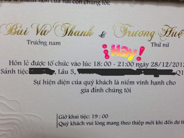 Thanh Bùi bất ngờ cưới hotgirl kém 5 tuổi 2
