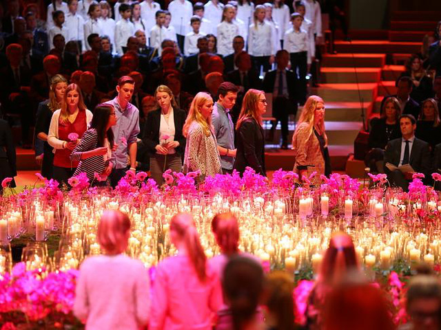 A Memorial For The Victims Of Flight MH17 Is Held In Amsterdam