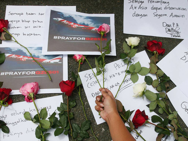 Missing AirAsia flight QZ8501