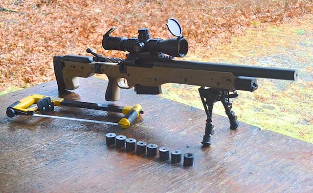 Một khẩu Winchester Magnum. Ảnh: