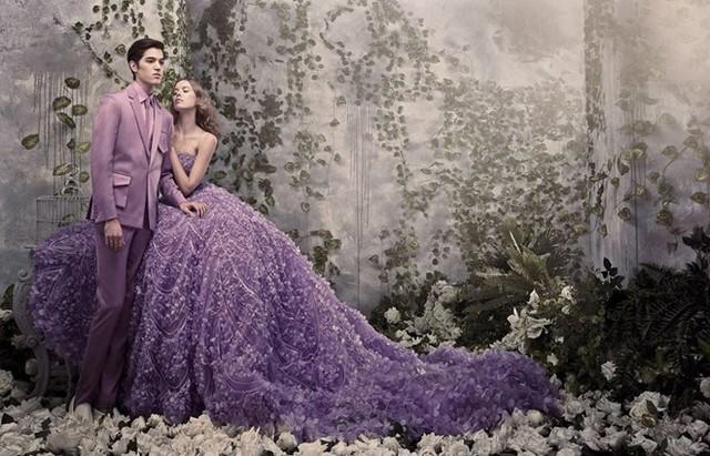 Lộng lẫy với xu hướng váy cưới 3D mới nhất