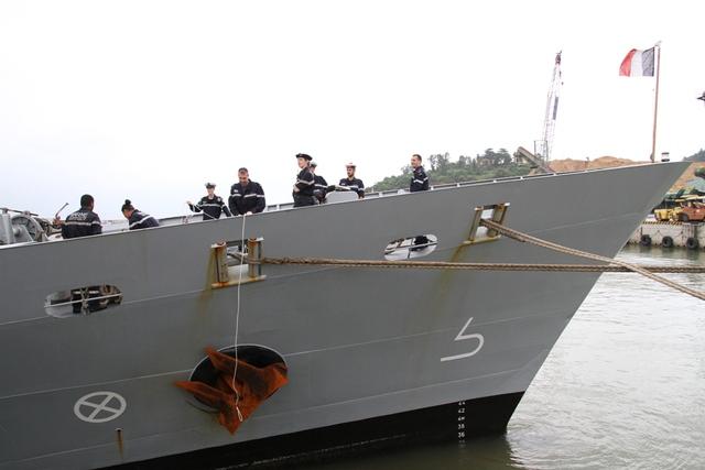Trưa ngày 19/11, tàu Vendémiaire sẽ rời cảng Tiên Sa, Đà Nẵng để tiếp tục hành trình.