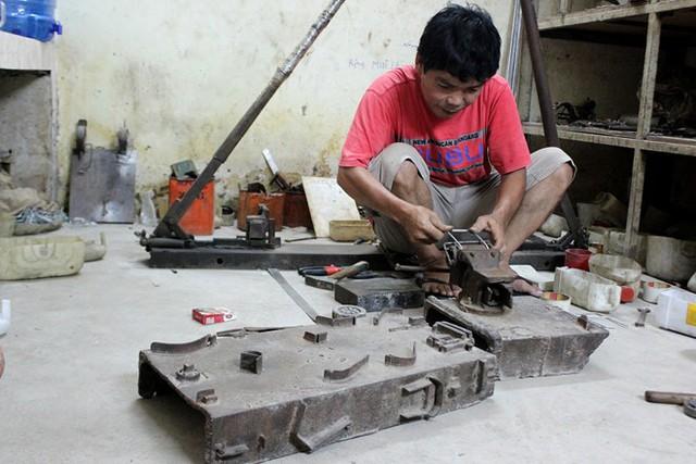 Kỹ nghệ biến đồng nát thành quái thú, xích lô mini ở Sài Gòn