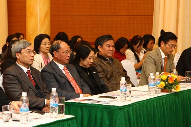 Sự kiện có sự tham gia của đại diện lãnh đạo các cục, vụ, đơn vị thuộc Bộ Y tế, Tổng cục DS-KHHGĐ