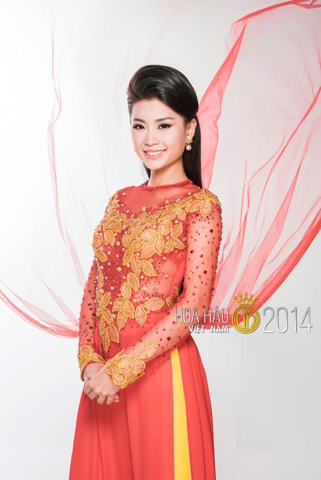 Á hậu thứ hai Nguyễn Lâm Diễm Trang