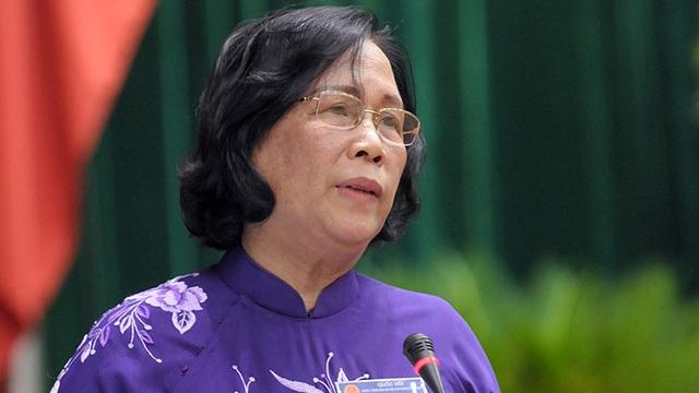 Bộ trưởng LĐ,TB&XH Phạm Thị Hải Chuyền. Ảnh: ptit.edu.vn