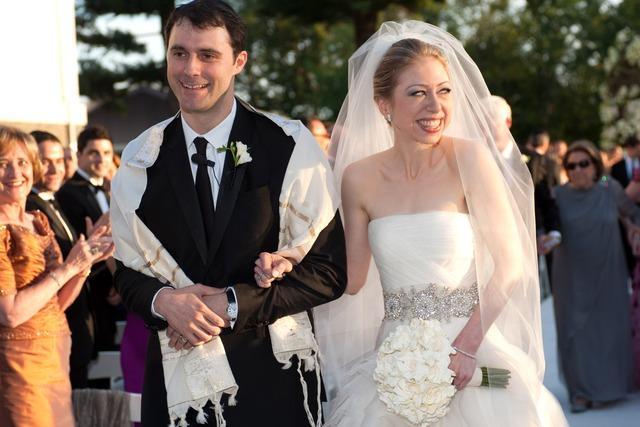Mezvinsky và Chelsea Clinton đã kết hôn vào 31/7/2010 ở Rhinebeck, New York, Mỹ. Ảnh: AP