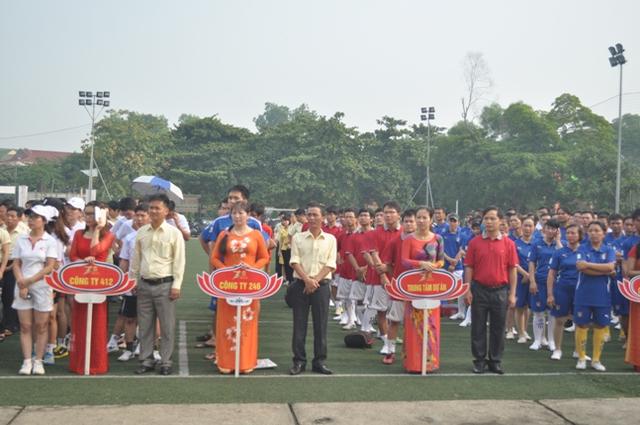 Lễ khai mạc Hội thao thường niên của Cienco4
