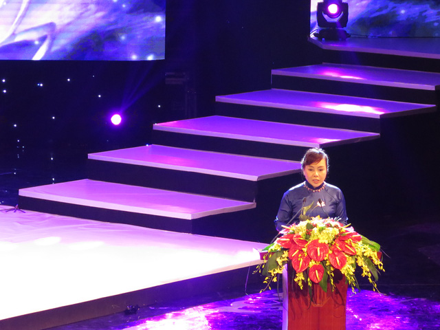 Bộ trưởng Bộ Y tế phát biểu tại buổi lễ