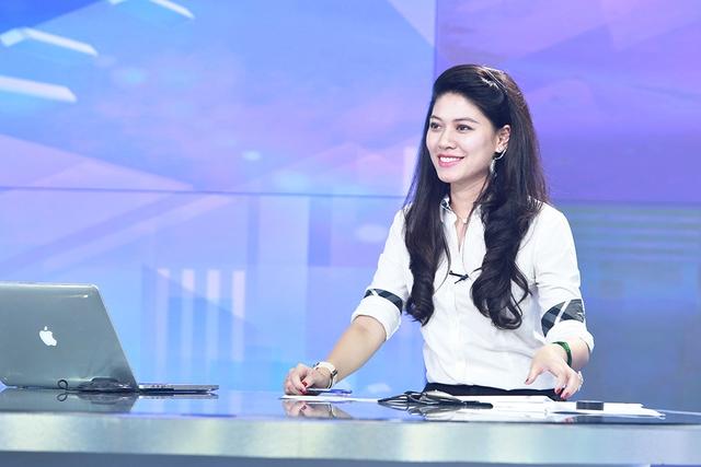MC Ngọc Trinh là dẫn chương trình chính của Chuyển động 24H
