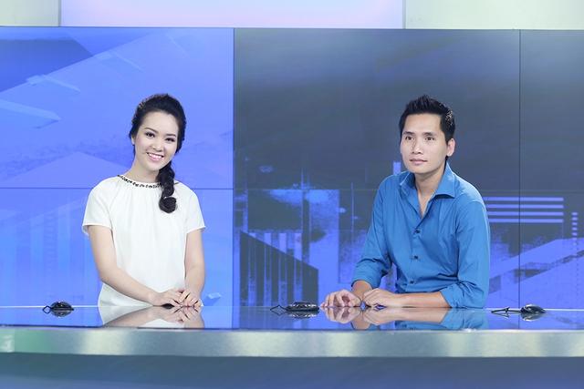MC Quốc Khánh và MC, Á hậu Thụy Vân