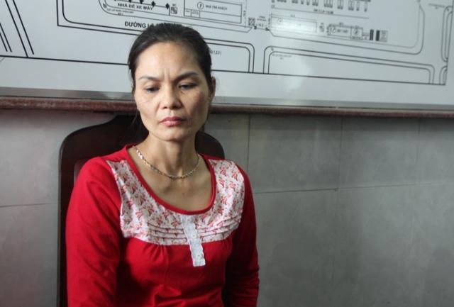 Nữ quái Phạm Thị Nga cầm đầu đường dây ma túy khủng nhất từ trước tới nay ở Đà Nẵng. Ảnh Đ.H