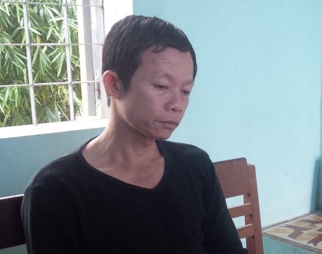 Giám đốc Phan Văn Minh tại cơ quan công an