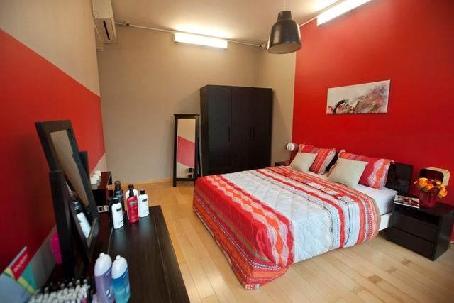 Phòng ngủ của các thí sinh nữ