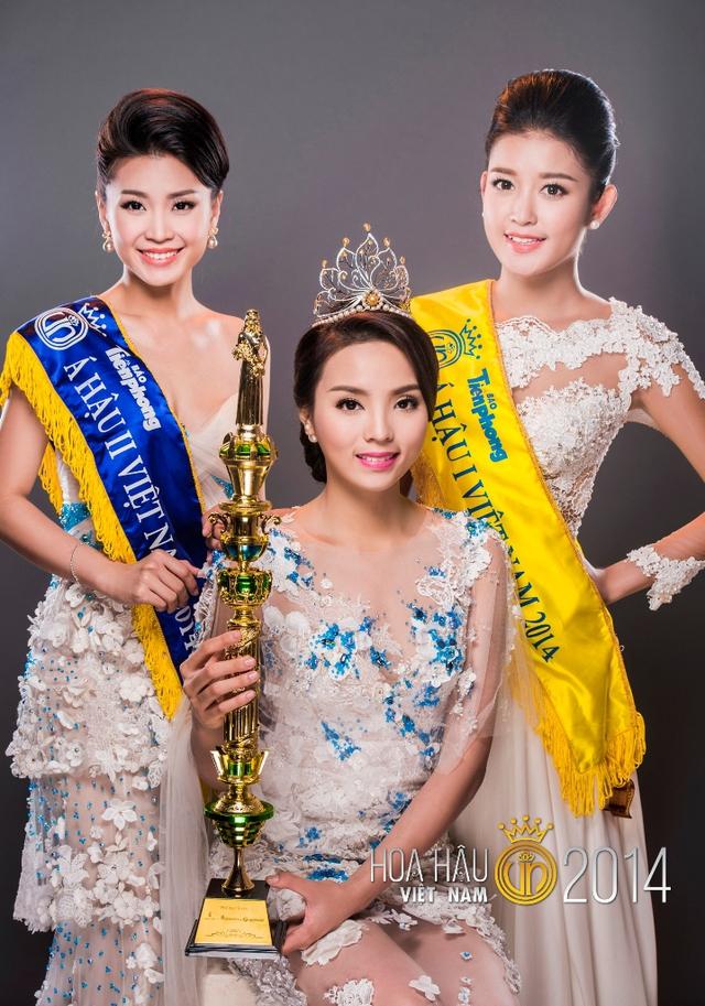 Ba hoa hậu vừa đăng quang