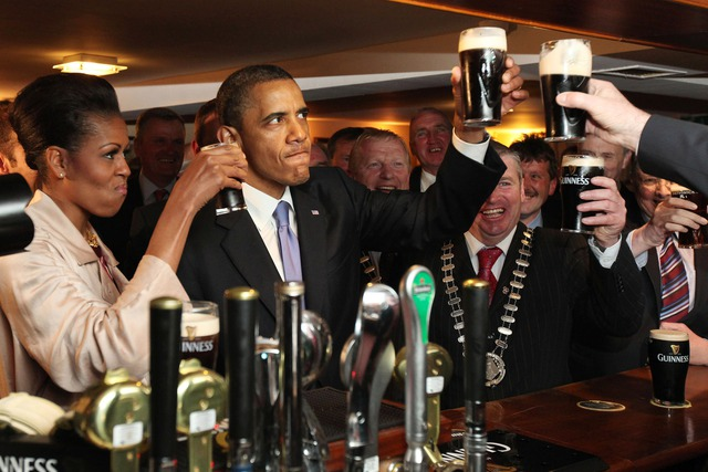 Tổng thống Obama đặc biệt thích uống bia