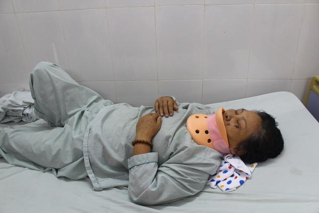 Bị cháu hành hung, bà Bình phải cấp cứu trong tình trạng đa chấn thương