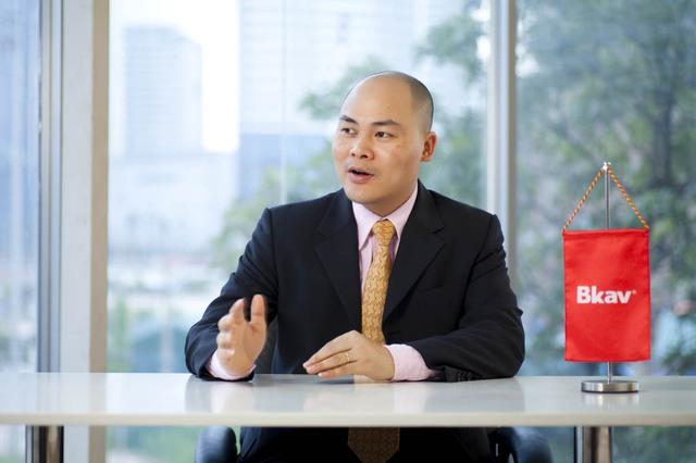 Tổng Giám đốc Bkav Nguyễn Tử Quảng.Ảnh: T.G