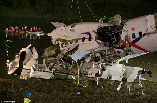 NIghtfall: Rescue teams are set to work through the night to find missing passengers and establish the cause of the crash, which is currently unknown