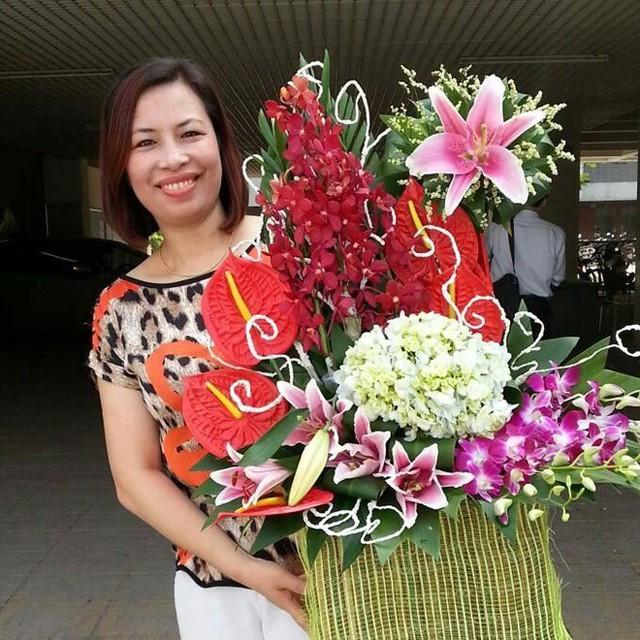 Cô giáo Đặng Nguyệt Anh.