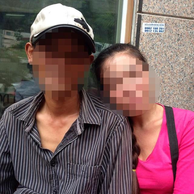 Trang và chồng đều là những bệnh nhân đang mang trong mình căn bệnh AIDS. Ảnh: HQ.