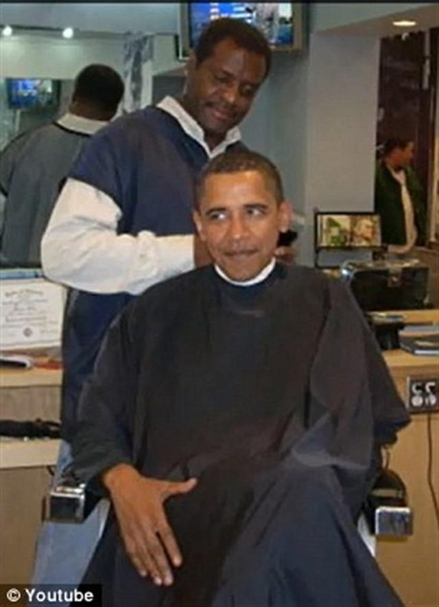 Obama và anh thợ Zariff.