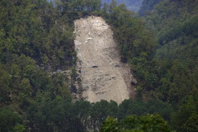 Các huyện miền núi Nepal thường xảy ra lở đất vào mùa mưa - Ảnh tư liệu: Reuters