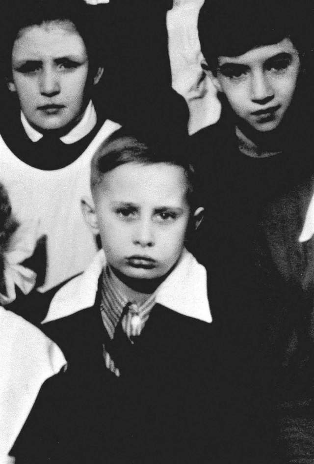 A class photo of Vladimir Putin in St. Petersburg, then called Leningrad, circa 1960.